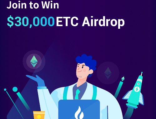 Huobi Global Airdrop ETC - Share $30,000 Of ETC Free