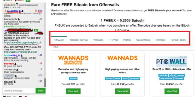Earn Free Bitcoin With Faucethub