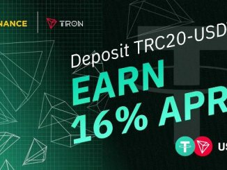Binance Deposit TRC20-USDT Reward - Deposit TRC20-USDT To Earn 16% APR And Win 160,000 TRC20-USDT