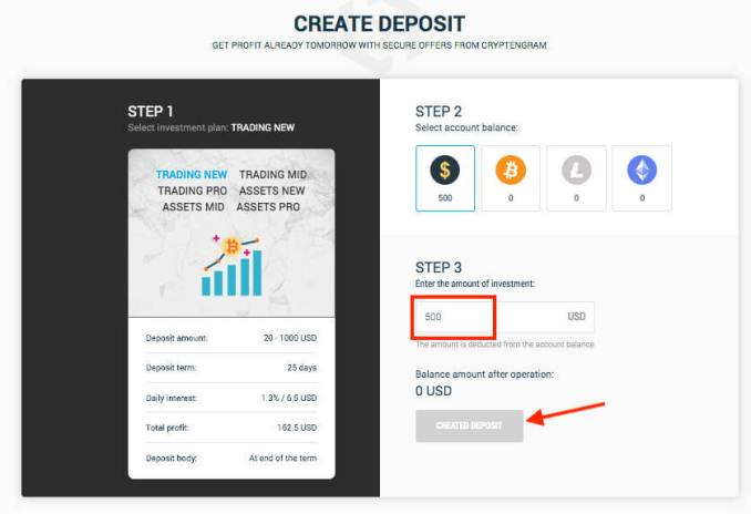 Cryptengram Hyip Review - Earn 1.3% - 3.5% Of Profits Daily