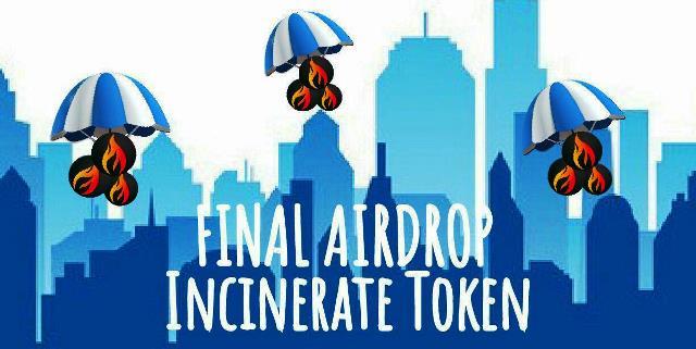 Incinerate Airdrop INC8 Token - Receive 125 INC8 Tokens Free