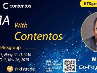 KTSGroup And Contentos Airdrop $300 Of COS Tokens - Contentos AMA On KTSGroup Telegram