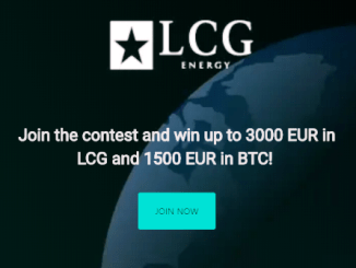 LCG Energy Bounty - Earn Up To 1,500 EUR In Bitcoin And 3,000 EUR In LCG Tokens