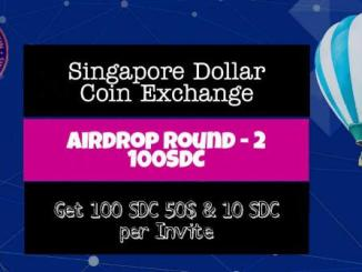 Singapore Dollar Coin Airdrop SDC Token - Earn $50 Of SDC Tokens Free