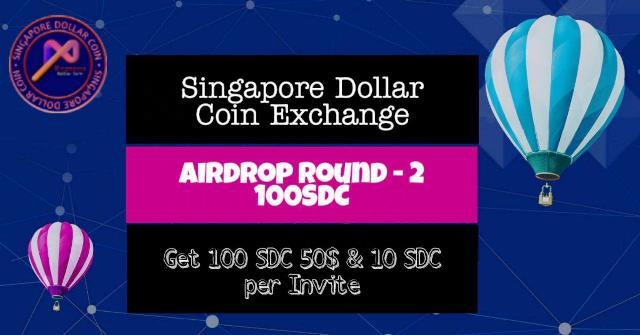 Singapore Dollar Coin Airdrop SDC Token - Earn $50 Of SDC Tokens Free