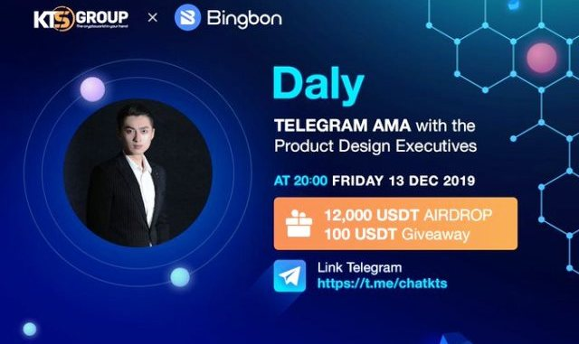 Bingbon Exchange And KTSGroup AMA - Airdrop $100 Of USDT Free And $1,200 For Trading Credit