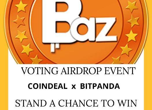 Bazooka Airdrop BAZ Token - Receive 30 BAZ Tokens Free