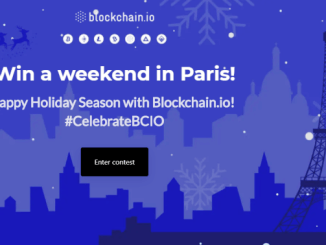 Blockchain.io Bounty Contest - Win A Trip To Paris And 500 BCIO Tokens