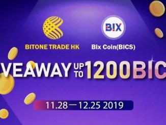 BICS Coin Airdrop - Bitonehk Exchange Airdrop 500 BICS Coins Free