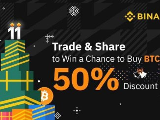 Buy Bitcoin On Binance Exchange With 50% Discount
