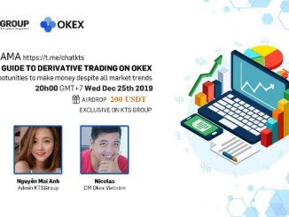 Okex Exchange And KTSGroup AMA - Airdrop $200 Of USDT Free