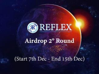 Reflex Airdrop RFX Token - Receive 150 RFX Tokens Free