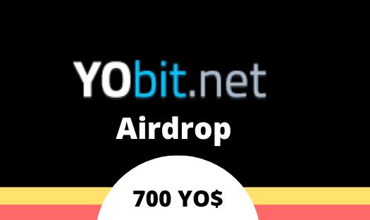 Yobit Airdrop YODOLLAR - Receive 700 YODOLLAR Free