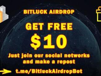 Bitluck Airdrop - Earn $10 Free