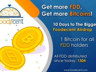 Foodecent Airdrop Bitcoin And FDD Token - Receive Bitcoin And FDD Token Free