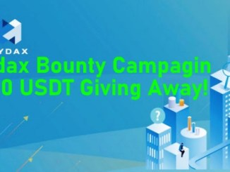 Hydax Bounty - 700 USDT Giving Away