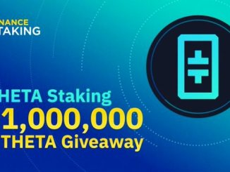 Binance Launches THETA Staking Program And Airdrop 1 Million THETA - Hold THETA To Earn Rewards