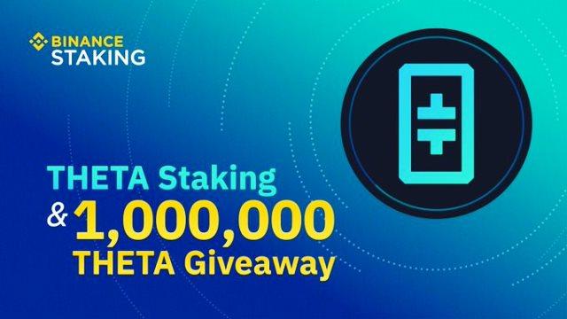Binance Launches THETA Staking Program And Airdrop 1 Million THETA - Hold THETA To Earn Rewards