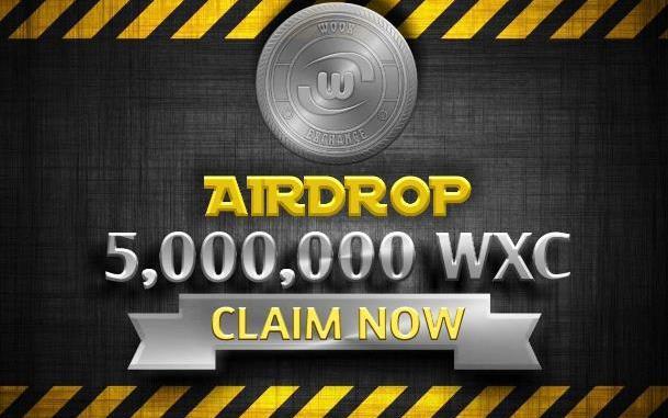 Woox Airdrop WCX Token - Receive 10 WCX Tokens Free