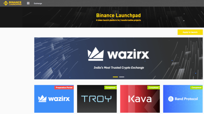 WazirX Token Sale Details On Binance Launchpad - How To Join And Buy WazirX Token (WRX)?