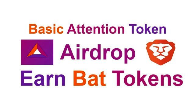 Basic Attention Airdrop BAT Token - Receive BAT Token Free Every Month