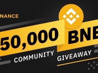 Binance Giveaways 50,000 BNB To Community