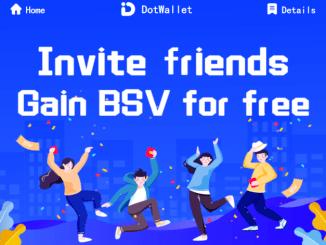 DotWallet Airdrop Bitcoin SV (BSV) - Earn BSV Free
