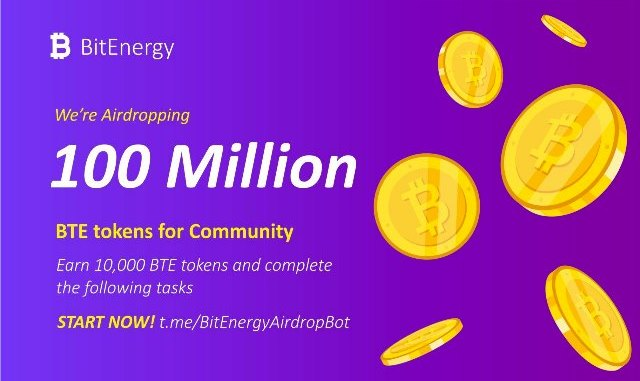 Bitcoin Energy Airdrop BTE Token - Earn $25 Of BTE Tokens Free