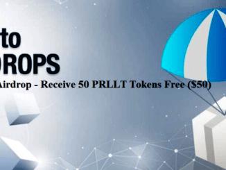 Parallelity Airdrop PRLLT Token - Receive 50 PRLLT Tokens Free ($50)