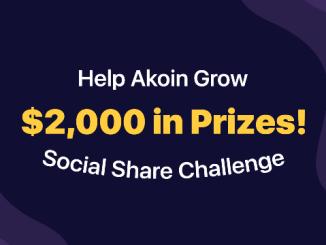 Akoin Bounty Program - Earn $200 Of Akoin Tokens - $2,000 In Akoin Tokens Prizes