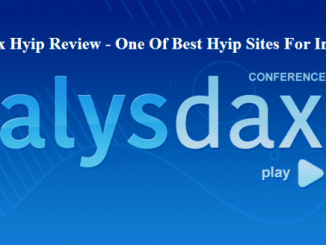 AlysDax Hyip Review - Earn Up To Than 37% Of Profit Every Month - One Of Best Hyip Sites For Investing - Cryptokiemtien