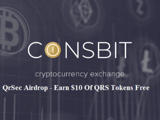 QrSec Airdrop QRS Token On Coinsbit Exchange - Earn $10 Of QRS Tokens Free