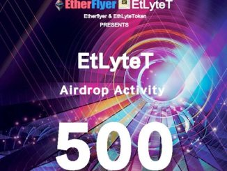 EtlyteT Airdrop On Etherflyer Exchange - Receive EtlyteT Token Free