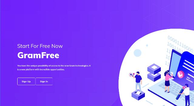 GRAM Token Airdrop - Receive 11 GRAM Tokens Free