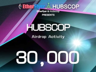 HUBSCOP Airdrop On Etherflyer Exchange - Receive HUBSCOP Token Free