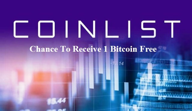 Coinlist Airdrop Campaign - Receive Up To 1 Bitcoin Free