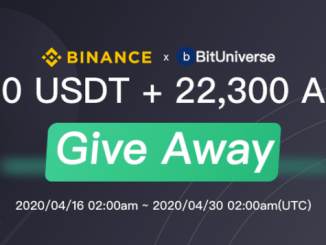 BitUniverse Giveaways Program - Get USDT And AGI Token