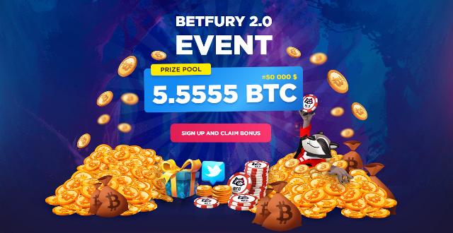 BetFury Airdrop Bitcoin - Receive 0.002 BTC Free