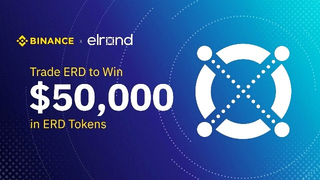 Binance And Elrond Trading Competition - Win $50,000 In ERD Tokens