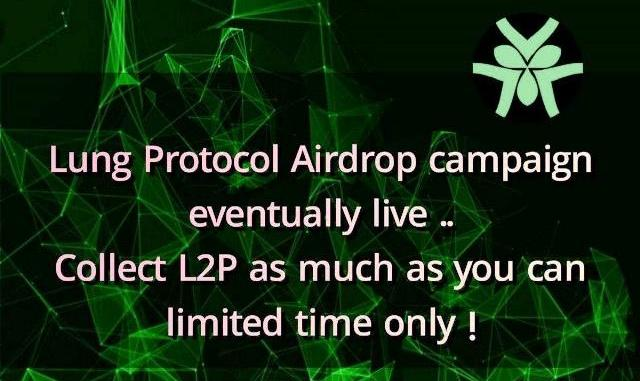 Lung Protocol Airdrop - Earn $21 Of L2P Tokens Free