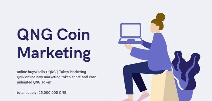 QNG Airdrop - Earn $25 Of QNG Tokens Free