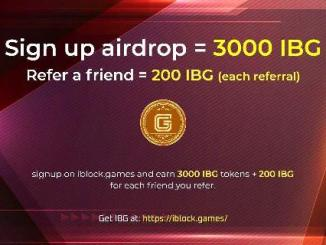 iBlock Games Airdrop - Earn $30 Of IBG Tokens Free