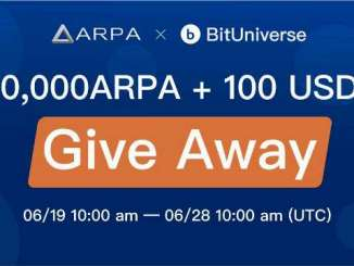 ARPA And BitUniverse Bounty - Win $100 USDT +3,0000 ARPA Tokens
