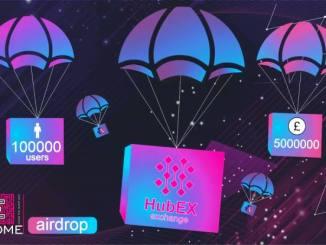 HuBex Airdrop Campaign - Receive 30 EDA Tokens Free