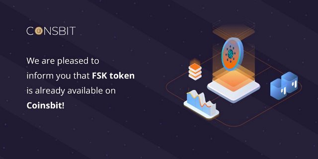 FreeSky Airdrop On Coinsbit - Get Free 4,000 FSK Tokens