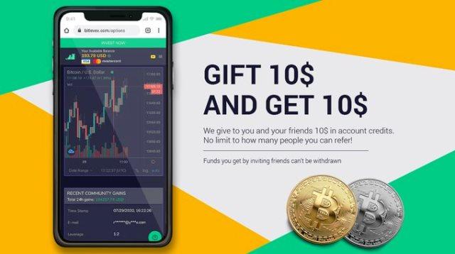 Bitlevex Exchange Airdrop - Get Free $10 To Trade