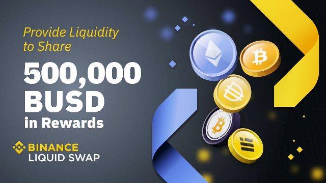 Binance Liquid Swap Added Bitcoin - Earn $500,000 BUSD in Rewards
