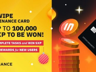 Swipe And Binance Card Promotion - Earn Up To 100,000 SXP