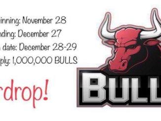 BULLS Crypto Airdrop - Get Free $100 Of BULLS Tokens