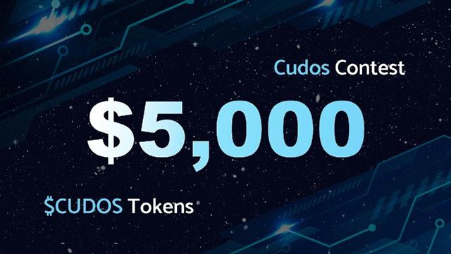 Cudos Crypto Airdrop - Win Up To $1,000 In CUDOS Tokens